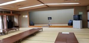 ⑦80畳の大広間(集会室)